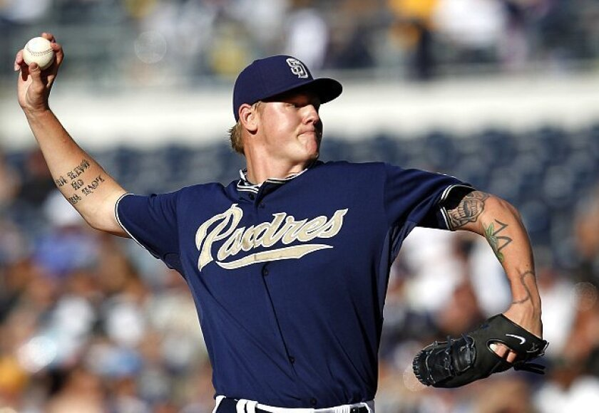Emerging staff ace Mat Latos will face two-time Cy Young Award winner Johan Santana in the first game of Thursday's day-night doubleheader in New York.