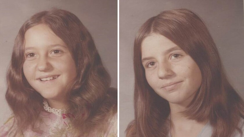 Doris Derryberry, left, and Valerie Lane.