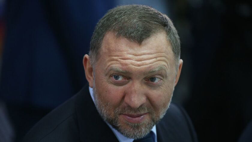 Russian billionaire and businessman Oleg Deripaska, who has found himself at the center of a heated American political scandal.
