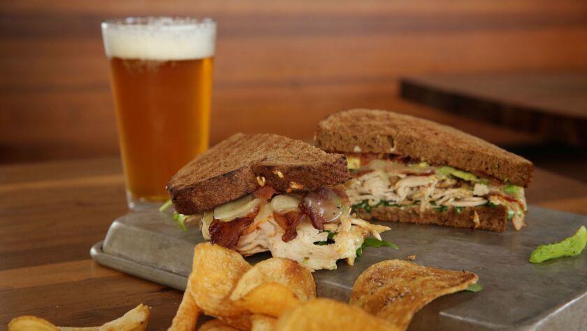 Turketta sandwich at Moto Deli in Encinitas