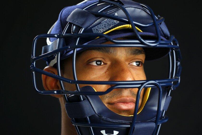San Diego Padres catcher Christian Bethancourt.