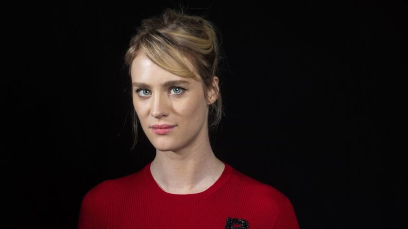 LOS ANGELES,CA --TUESDAY, APRIL 17, 2018--Actress Mackenzie Davis is photographed during a day of pr
