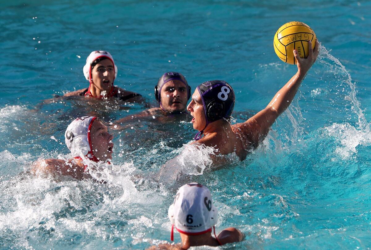 Photo Gallery: Hoover High School boys water polo vs. Glendale High