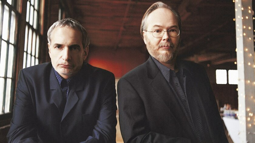 Donald Fagen (left) and Walter Becker co-founded Steely Dan in 1972.