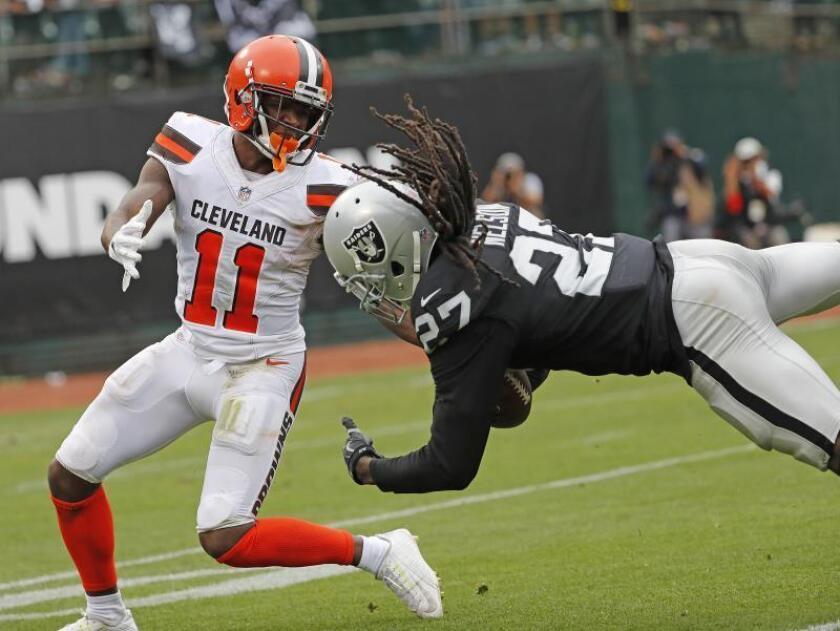 NFL suspende a Callaway por violar política de abuso de sustancias