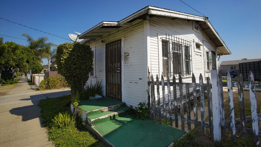 This 500-square-feet home listed for sale on L Avenue in National City, list for $250,000.00. The i