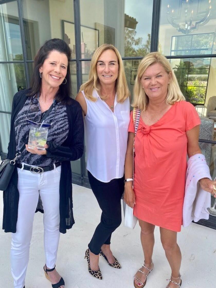 Carlie Berke, Joanne Marks and Connie Pittard