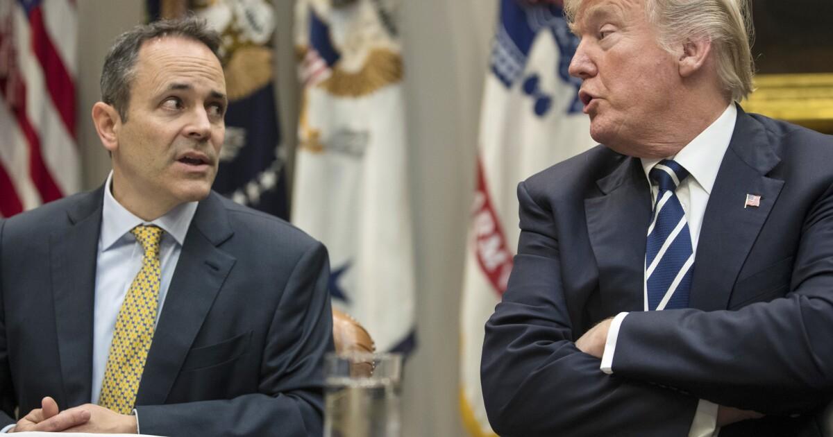 Trump Sturzflüge in governors' Rennen im Süden, seine Stärke zu testen, die unter Anklage Feuer