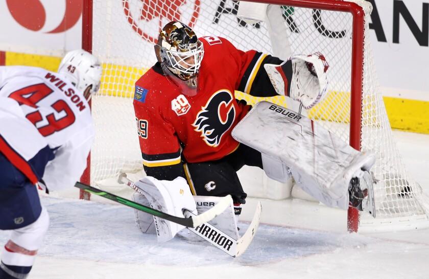 Capitals Flames Hockey