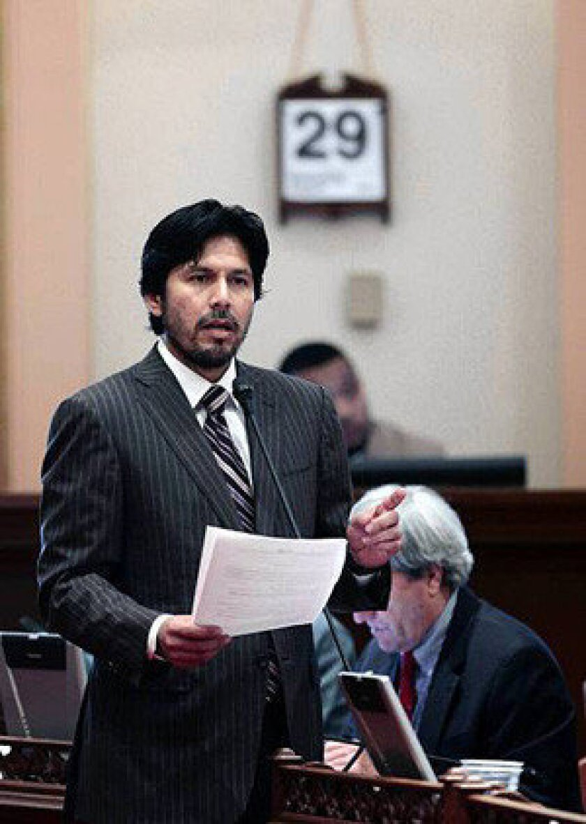 California state Sen. Kevin de Leon (D-Los Angeles) was the principal author of the bill to overhaul the state's workers' compensation system.