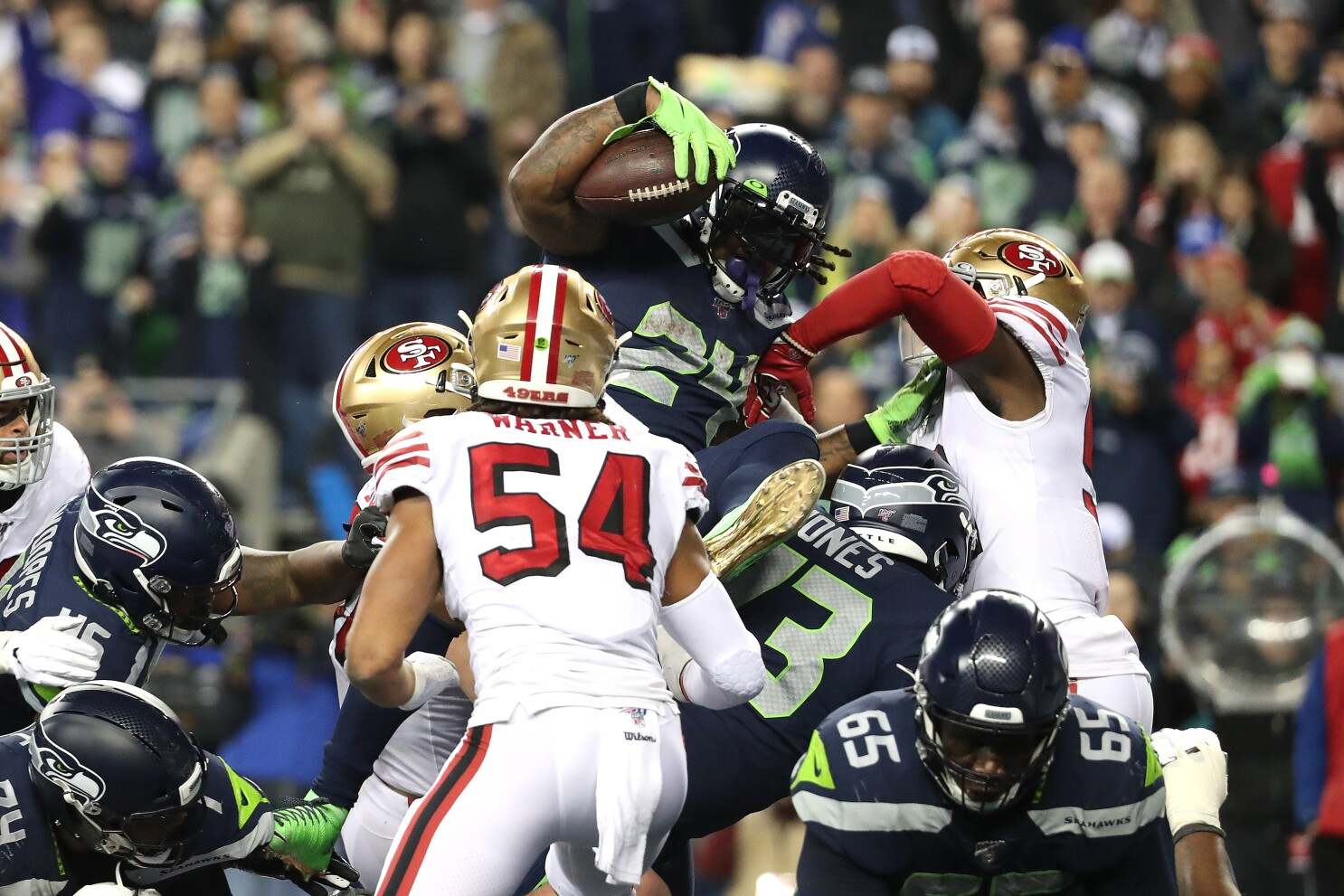 Marshawn Lynch Scores In Seahawks Return But Another Frustrating Finish From The One Los Angeles Times