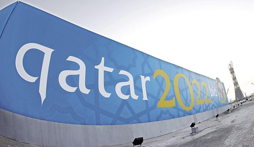 Catar tiene la sede de la Copa del Mundo 2022.