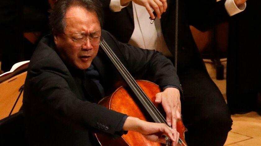 Yo-Yo Ma performing Esa-Pekka Salonen's new Cello Concerto.