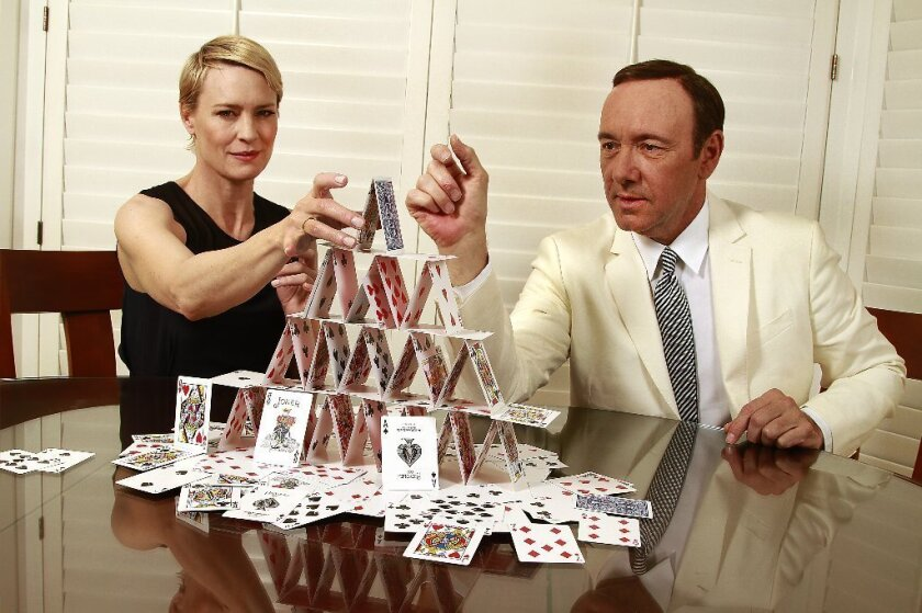 """""""House of Cards"""" is another sign Netflix has arrived."""