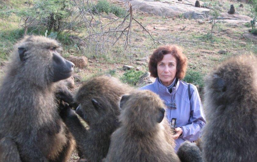 Anthropologist Shirley C. Strum