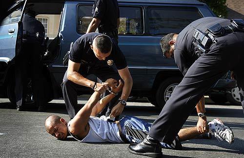 LAPD gang crackdown