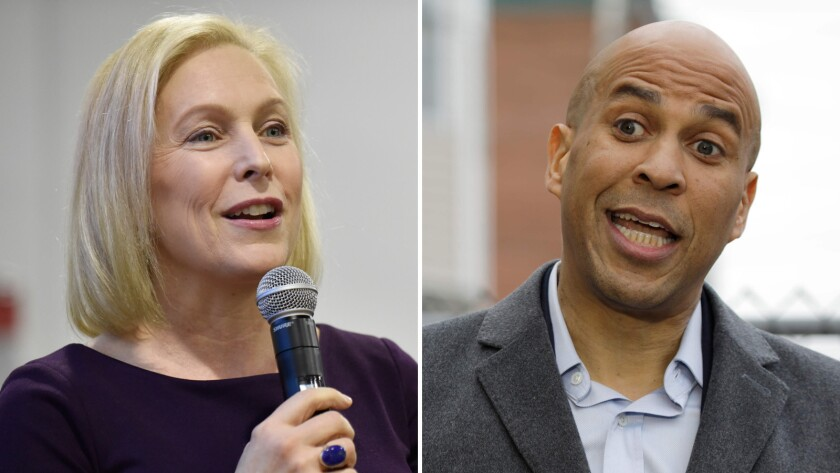 Senate Candidates Stake Out A Range Of Positions On >> Buckle Up For The Crowded 2020 Democratic Race Here S An Early