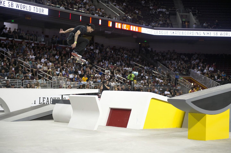 El NIKE SB World Tour se efectuó en Los Ángeles este fin de semana y un brasileño fue el ganador: