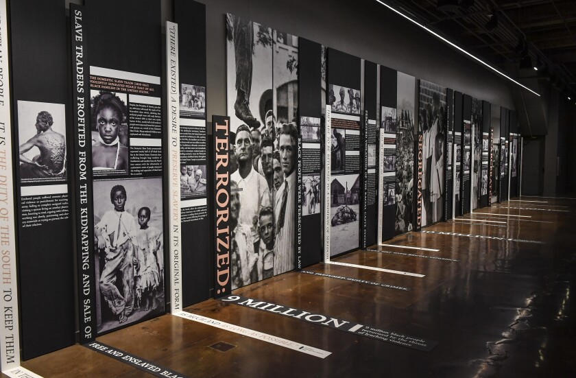 Tips for taking children to the new Legacy Museum and lynching memorial in Alabama
