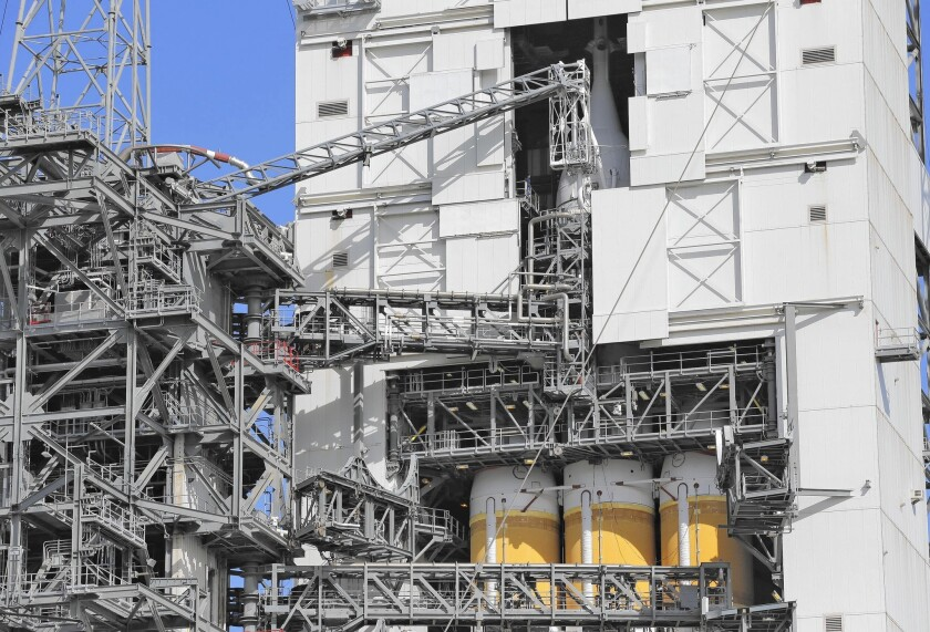 Final preparations are underway for NASA's Dec. 4 maiden launch of the Orion spacecraft from Cape Canaveral, Fla.