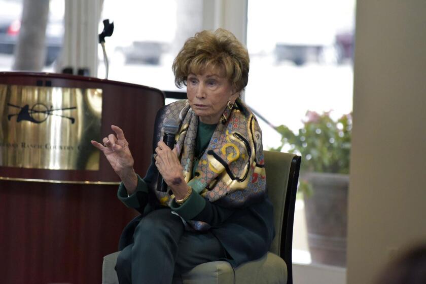 Holocaust survivor/author/guest speaker Dr. Edith Eger