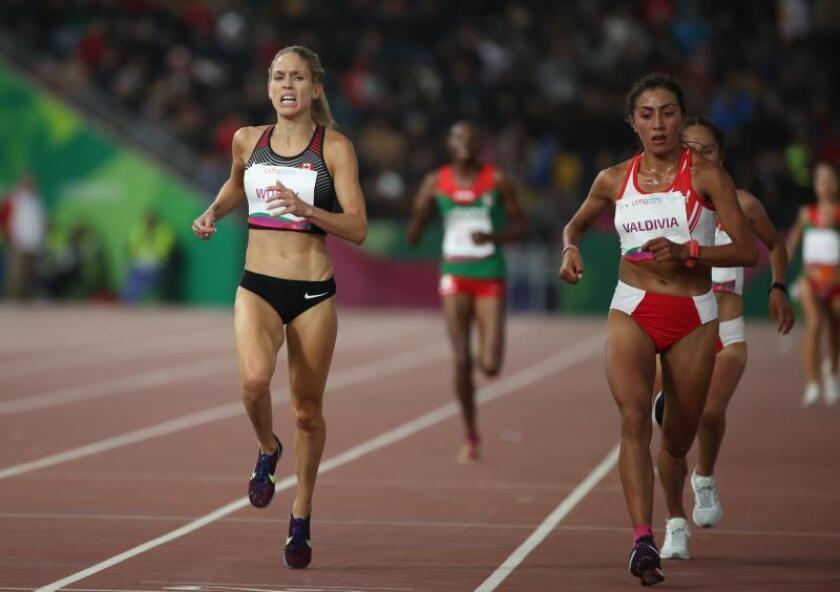 Oro y récord de los Juegos en los 10.000 m para la canadiense Wodak