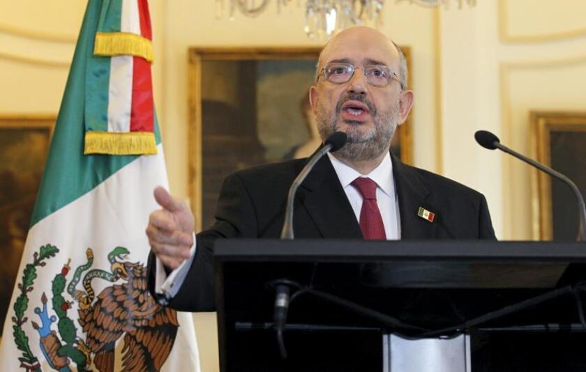 El Subsecretario de Relaciones Exteriores de México, Carlos de Icaza. EFE/Archivo