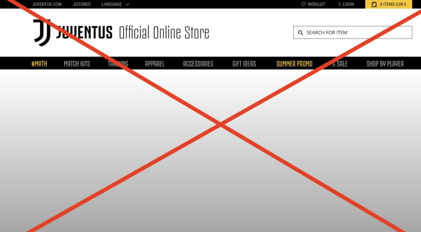 La tienda 'online' de Juventus, sin servicio por varias horas por 'culpa' de CR7.