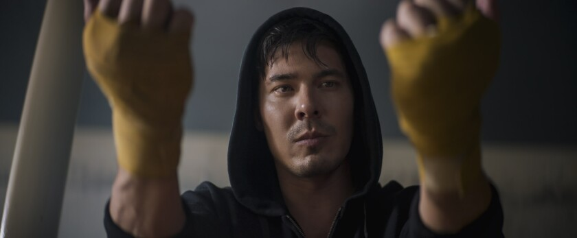 Lewis Tan as Cole Young in 'Mortal Kombat'