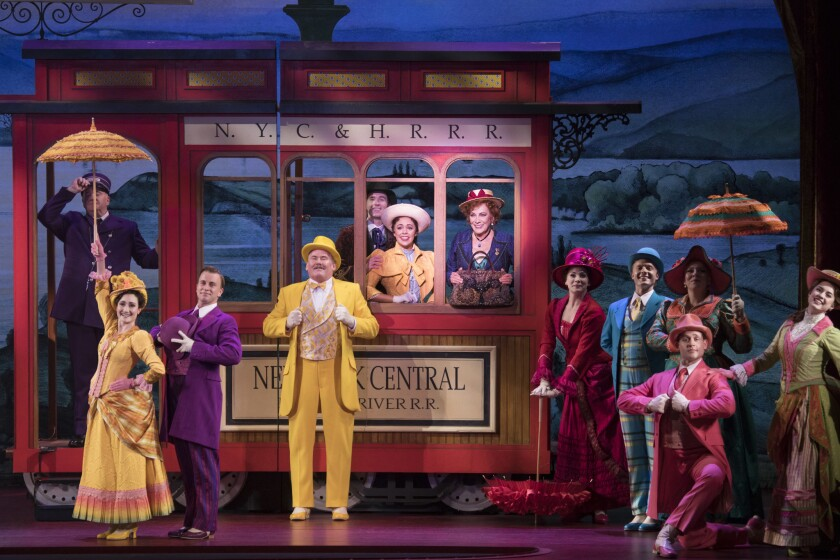"""The """"Hello, Dolly!"""" National Tour Company - 2018. This National Tour of the Tony-Winning Broadway Re"""