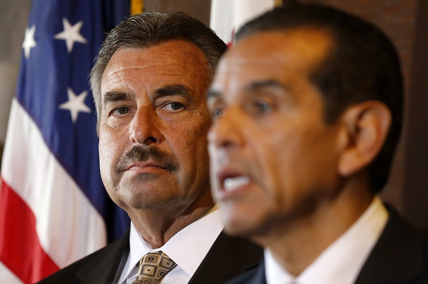 LAPD chief and former mayor