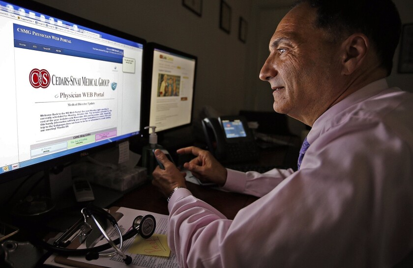 Get your electronic health record: It's your right - Los Angeles Times