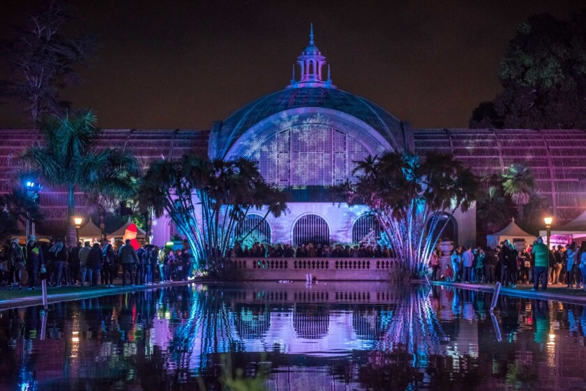 El Jardín Botánico ofrecerá música en vivo y un despliegue de luces navideñas.