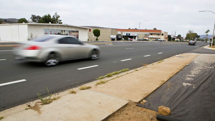 The city of Poway is about to embark on a long study of how to make Poway Road, the main road in tow