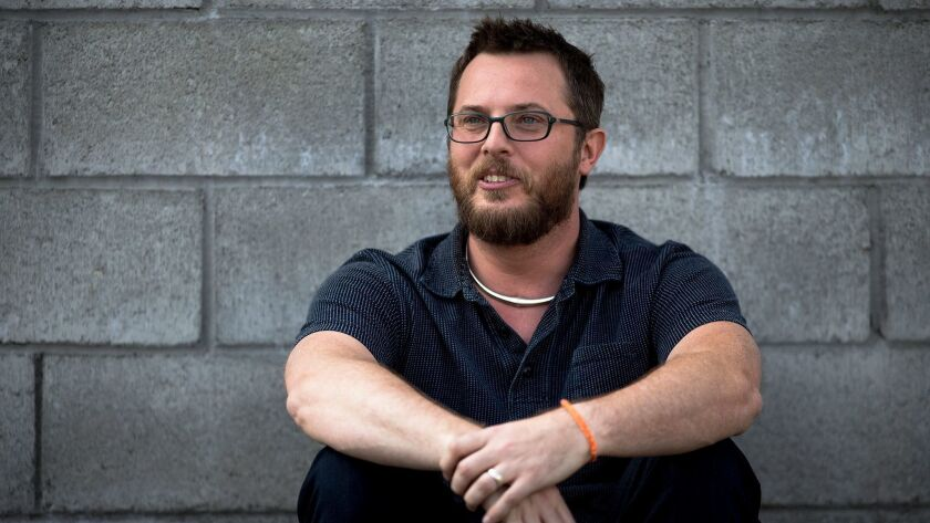 """BURBANK, CA _ MAY 20, 2016: Duncan Jones is the director of the video game """"Warcraft,"""" which is an"""