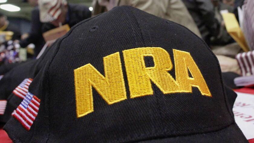 An NRA cap
