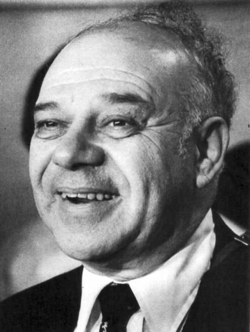 Jerome Karle in 1985.