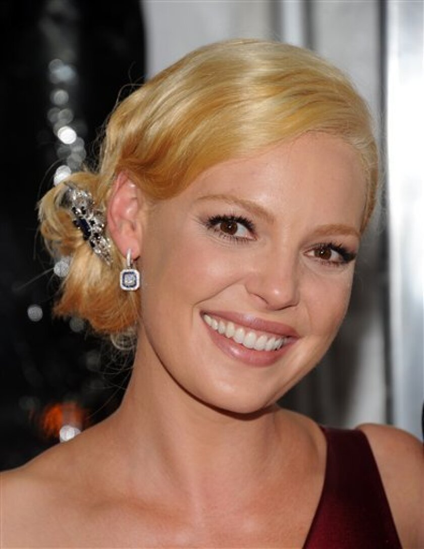 "Actress Katherine Heigl attends the premiere of ""Life As We Know It"" at The Ziegfeld Theatre, in New York, on Thursday, Sept. 30, 2010. (AP Photo/Peter Kramer)"