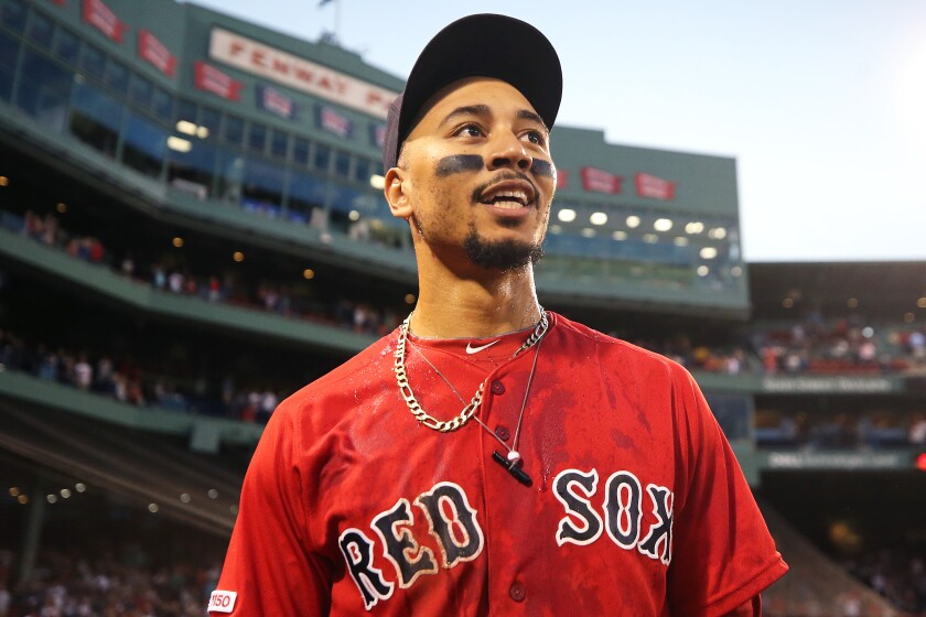 Mookie Betts is now a Dodger. The fleet, slugging right fielder was acquired from the Boston Red Sox.