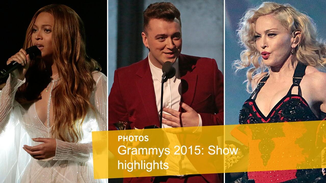 Grammy Awards 2015   Show highlights