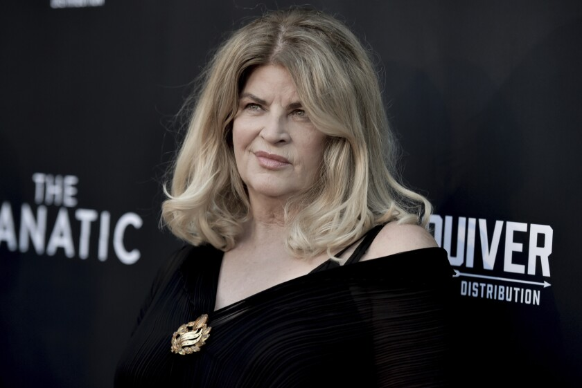 Kirstie Alley at a premiere