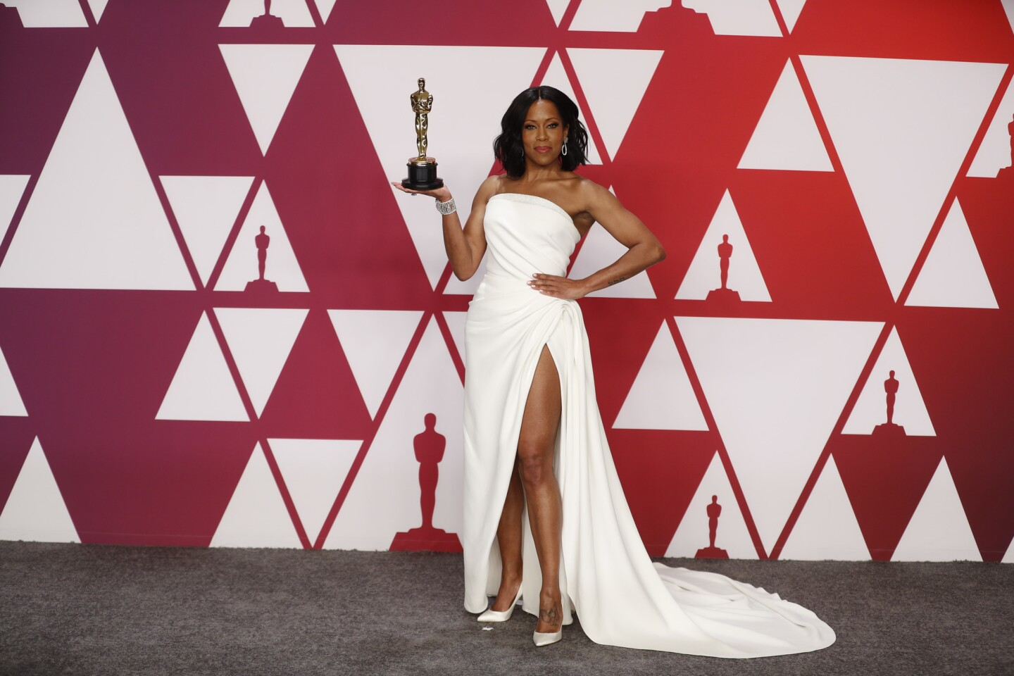 """Regina King, winner for supporting actress in """"If Beale Street Could Talk."""""""