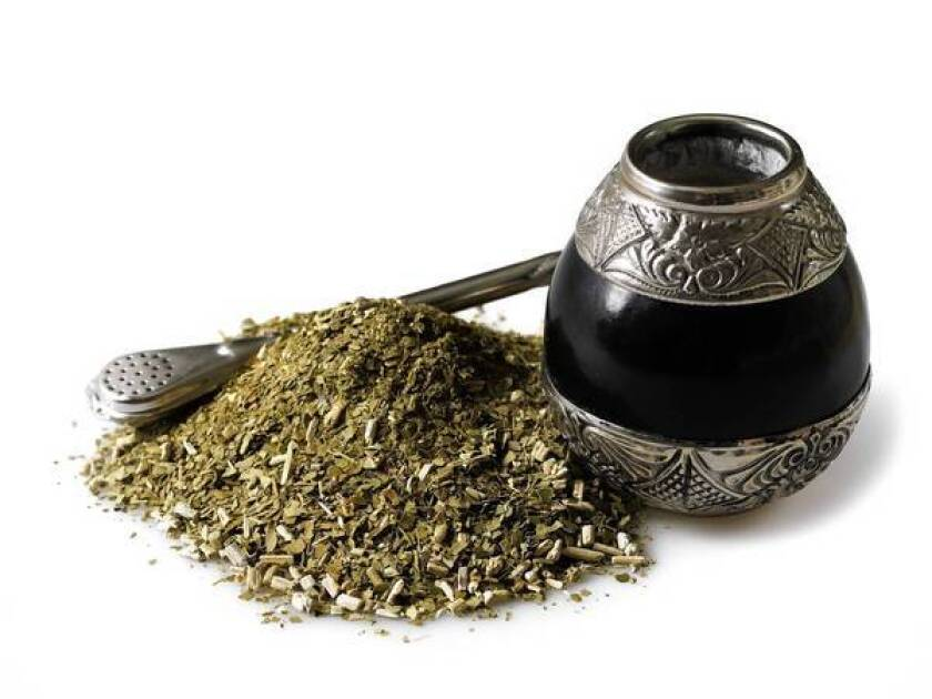 Yerba mate is among the natural ingredients used in energy drinks.