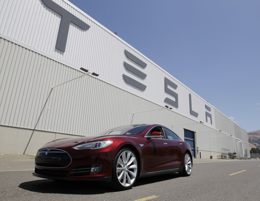Tesla building more cars in California?