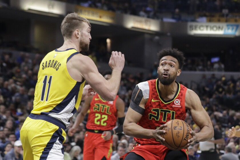 Hawks Pacers Basketball