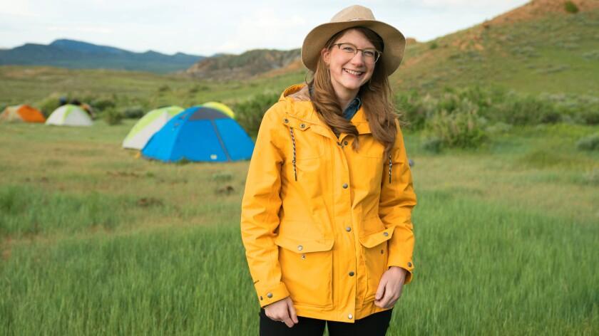 "Emily Graslie of ""Prehistoric Road Trip"" on PBS."