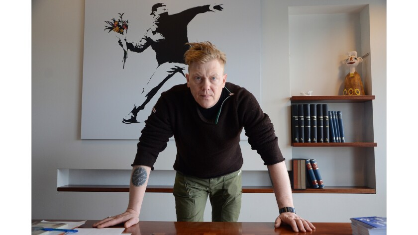 Jon Gnarr was elected mayor of Reykjavik in 2010.