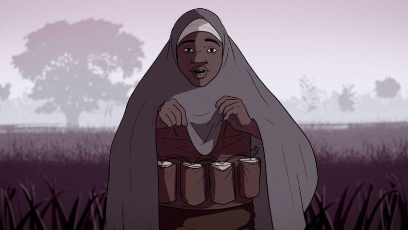 Falmata es una de las cientos de mujeres jóvenes, la mayoría de ellas adolescentes, que se han visto forzadas por el grupo yihadista Boko Haram a convertirse en atacantes suicidas en Nigeria.