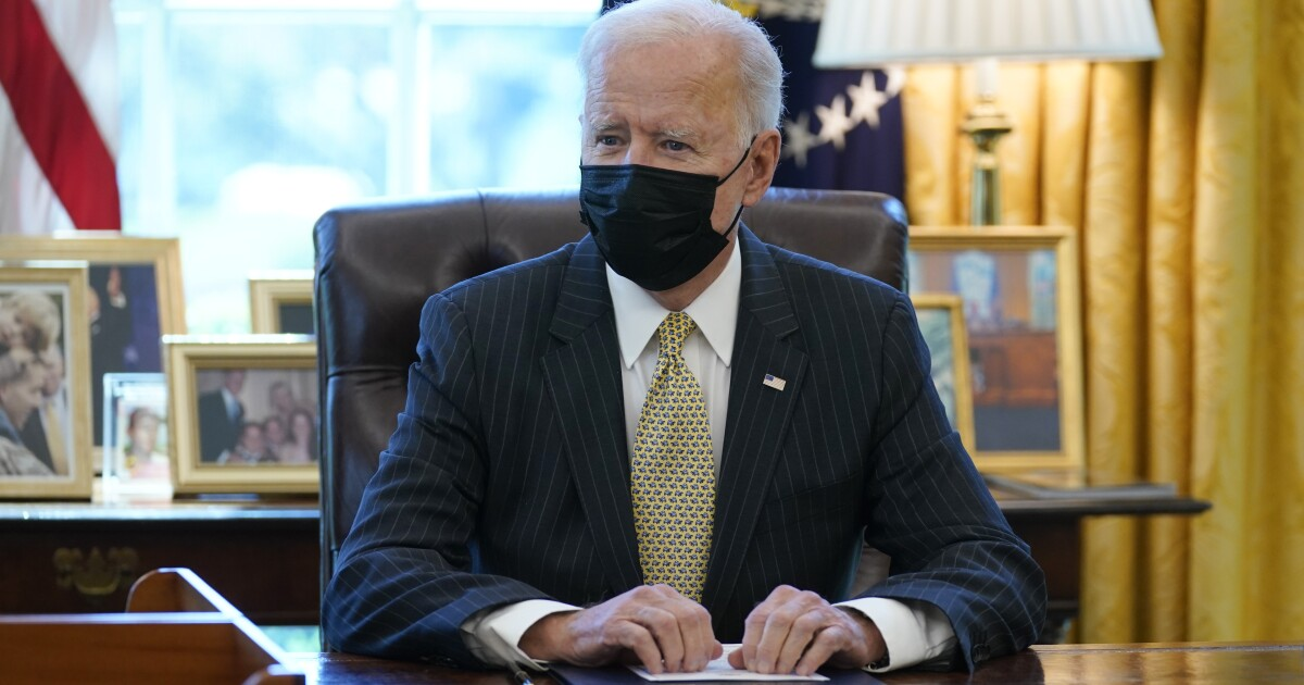 Analysis: Biden tests public's limits on spending, deficits - Los Angeles Times