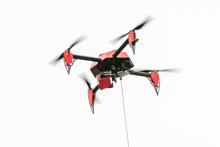 """A proposed law would allow the FBI and Department of Homeland Security to legally track down drones that pose a """"credible threat"""" to a """"covered facility or asset."""""""